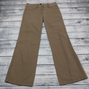 Linen/cotton wide leg lounge pants